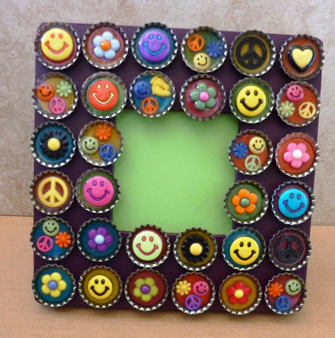 Handmade Photo Frame Craft Project Art And Craft Projects Ideas