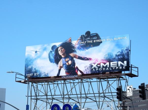 XMen Apocalypse Psylocke billboard