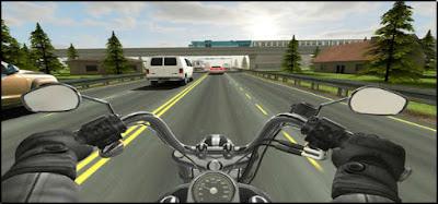 traffic rider مهكرة
