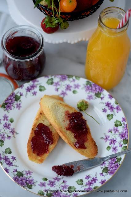 Merry Berries - Strawberry Kumquat Jam with cloves