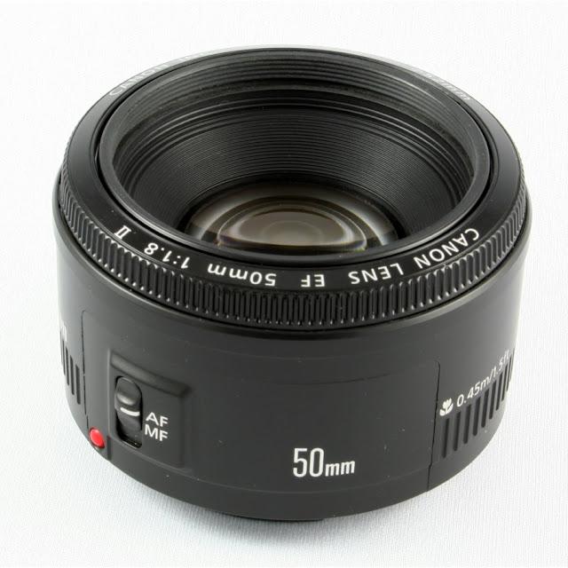 Fotografia del Canon EF 50mm f:1.8