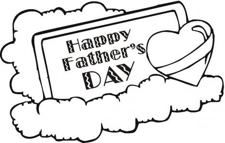 Free coloring pages for Honor your father and mother coloring page