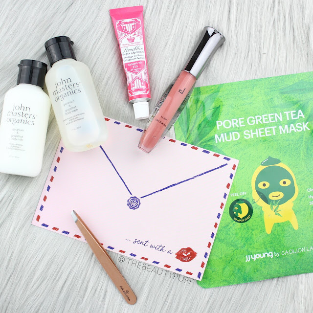 Glossybox February 2018  |  The Beauty Puff