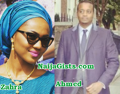 zahra buhari wedding date