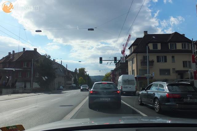 チューリッヒの街中 zurich-city