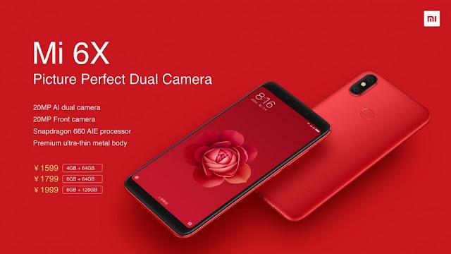 Xiaomi Rilis Mi 6X Edisi Hatsune Miku