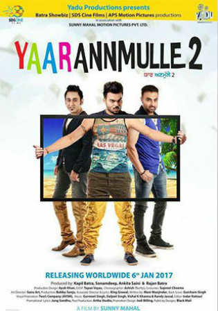Yaar Anmulle 2 2017 HDRip 350Mb Full Punjabi Movie Download 480p Watch Online Free bolly4u