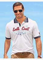Tricou polo bărbătesc cu un aspect super modern