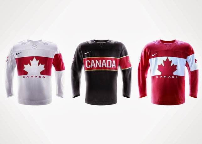 35e4621c3 These Canadian hockey jerseys will be worn exclusively in competition by  the men s