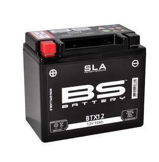 Προφορτισμένη Μπαταρία BS Battery SLA BTX12 Για Piaggio Beverly 300/350 - Suzuki V-strom 650