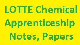 LOTTE Chemical Apprenticeship Notes, Pattern Papers, Written Test, MCQs Free Download