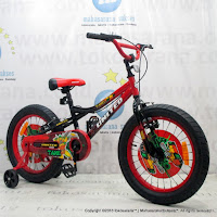 18 Inch United Tank Kids Bike