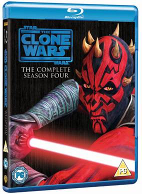 Star Wars: Clone Wars The Complete Season Four Blu-ray / DVD