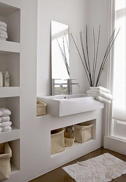 Baños Modernos Fotos Decoracion: fotografías inspiradoras de decoración de baños pequeños modernos