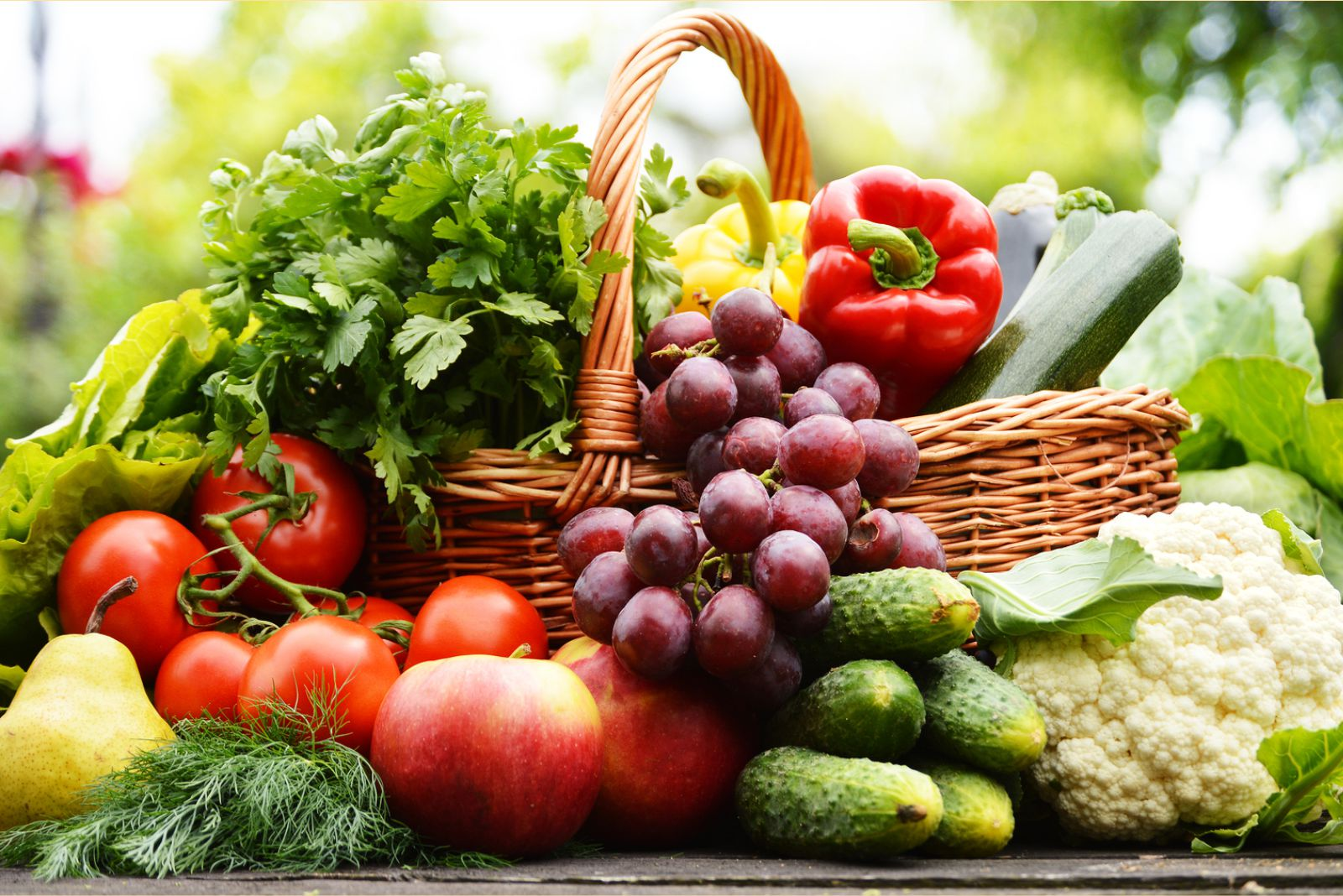 Include More Fresh Fruits and Vegetables