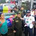 La Policía Metropolitana de Popayán se solidariza con las personas del asentamiento Lagos de Occidente.