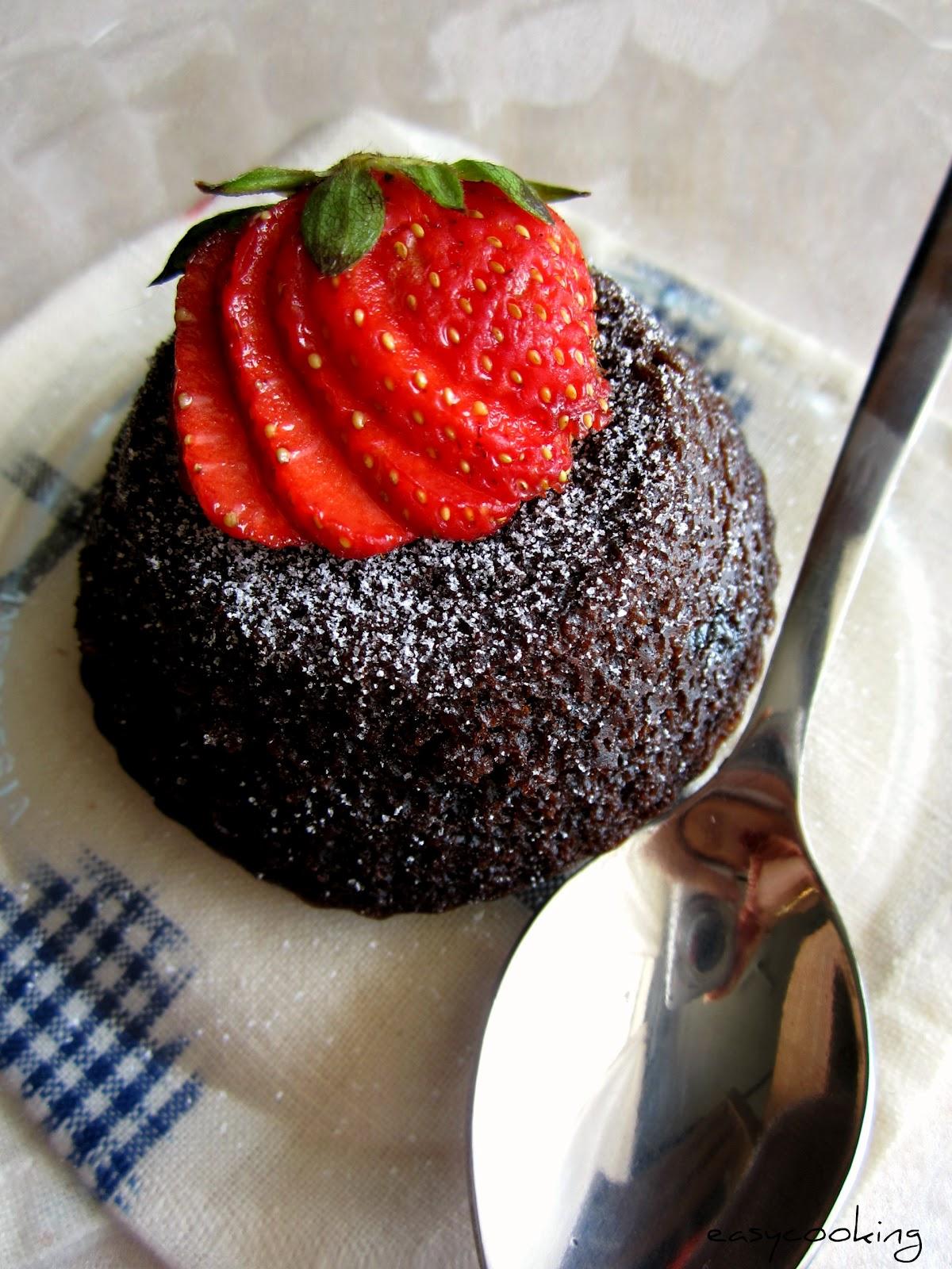 Molten Lava Cake Using Box Cake Mix