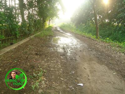 Kalau suasana hujan atau malam hari jangan lewat jalan ini deh, cari jalan alternatif lain...