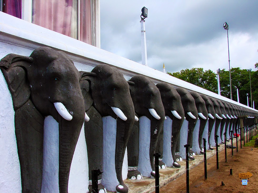 Elefantes Dagoba Ruvanvelisaya