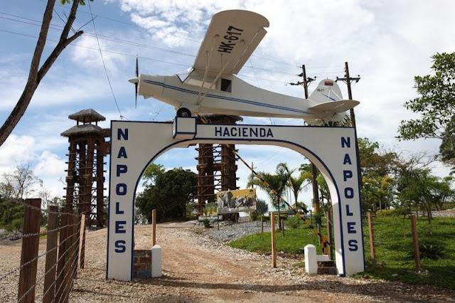 Escobar'ın Sarayı Hacienda Napoles