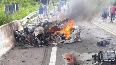 Acidente envolvendo carros de luxo deixa mortos no Piauí