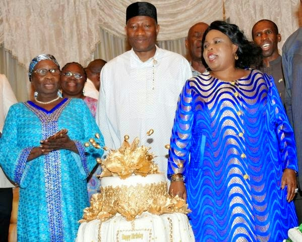 president jonathan mother witch