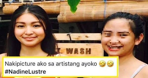 Woman draws flak for criticizing Nadine Lustre after taking photo