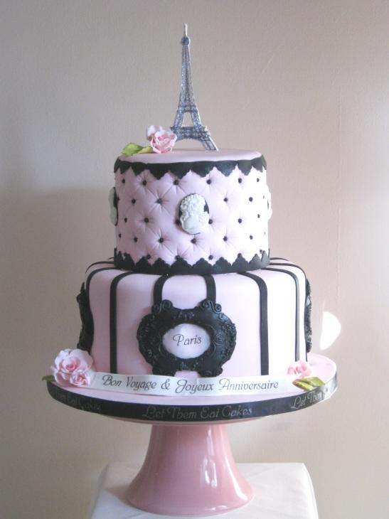 Let Them Eat Cakes Bon Voyage Paris Cake