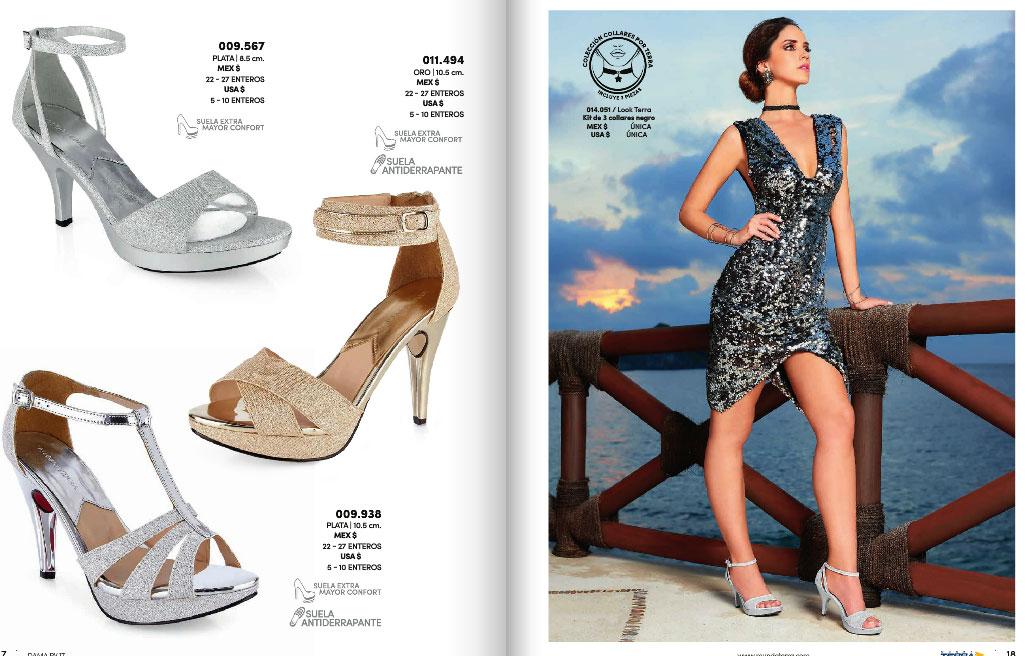 Nuevo catalogo de zapatos damas mundo terra 2017 pv for Catalogos terra