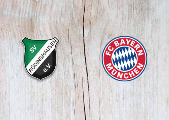 Rödinghausen vs Bayern Munich - Highlights 30 October 2018