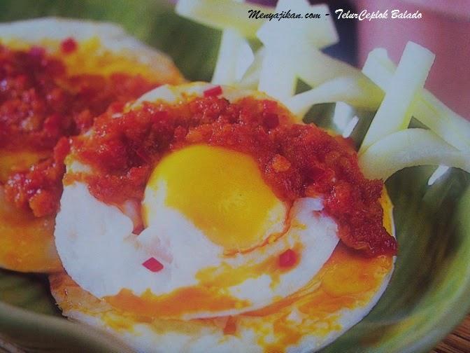 Resep Membuat Telur Ceplok Balado