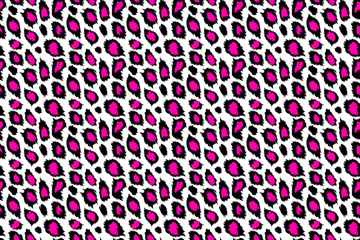 Hot Pink Leopard Print Wallpaper