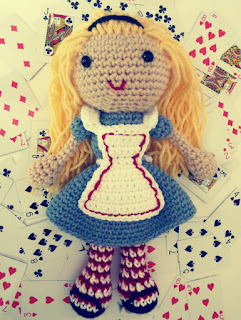 Free Alice in Wonderland crochet patterns