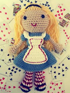 Free Alice in Wonderland crochet patterns