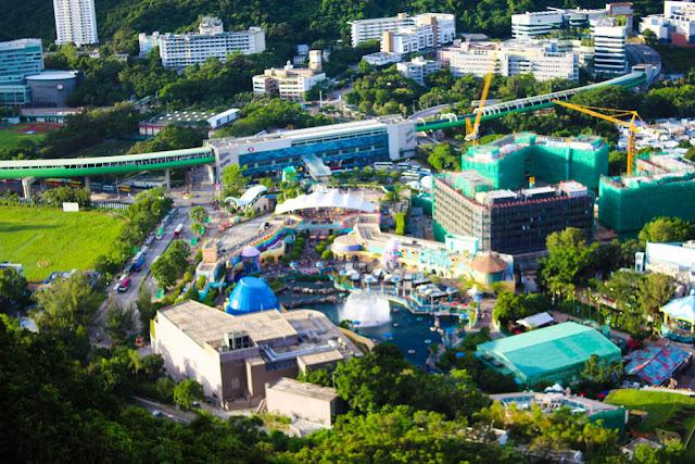 Ocean Park Aerial View, Hong Kong