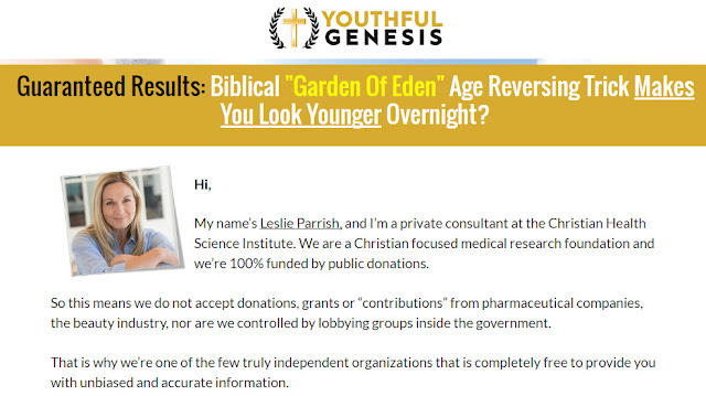 Youthful Genesis, Youthful Genesis Review, Youthful Genesis PDF