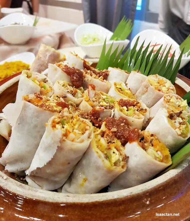 Homemade Popiah Basah