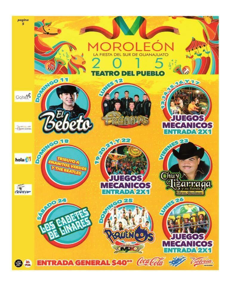 teatro del pueblo feria moroleón 2015