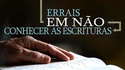 CONHECER DOUTRINAS BÍBLICAS