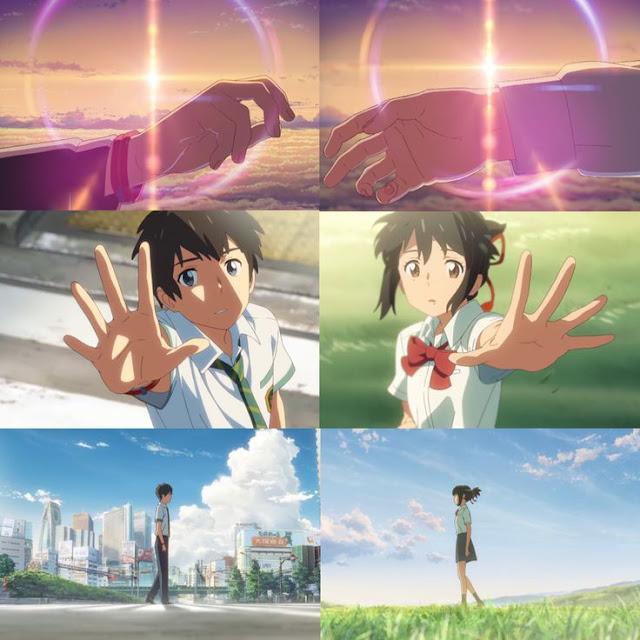 KImi No Na Wa di Rekomendasi Anime Romance - Drama Terbaik