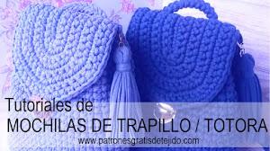 Mochilas de Trapillo / Tutoriales