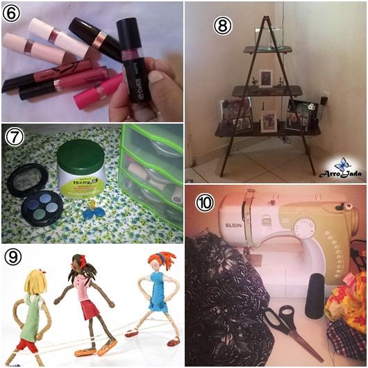 Batom, decoração, verde, hobby, infância