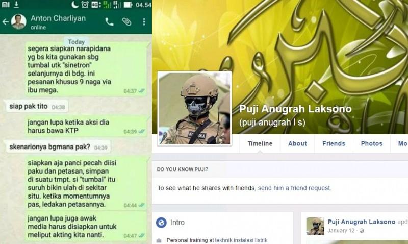 Obrolan WA hoax antara Kapolri dan Kapolda Jabar