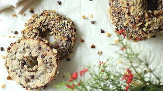 Donut Shaped Chocolate Chip Cookies