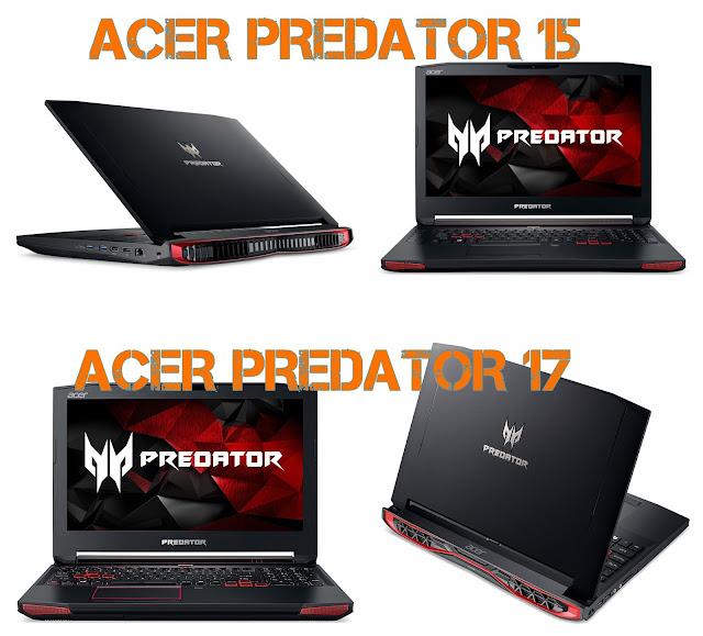Acer Predator 15 Acer Predator 17 Gaming Laptop