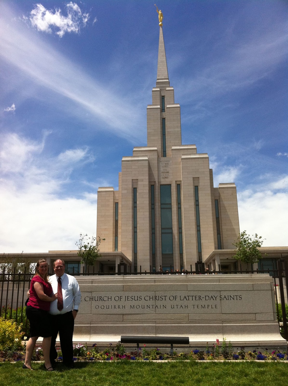 Temple Tourism: Oquirrh Mountain Utah Temple