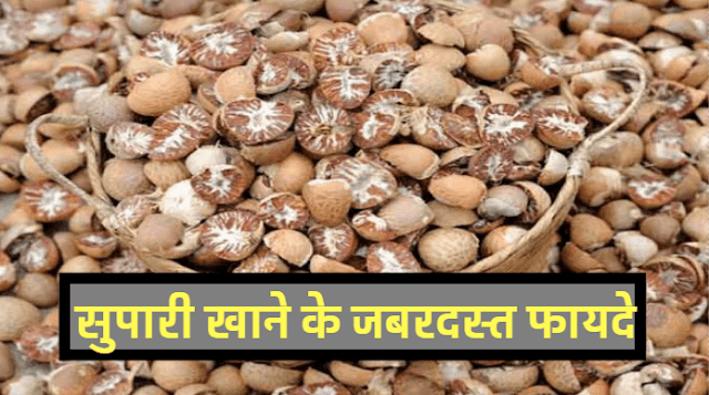 Betel Nut Benefits And Side Effect In Hindi