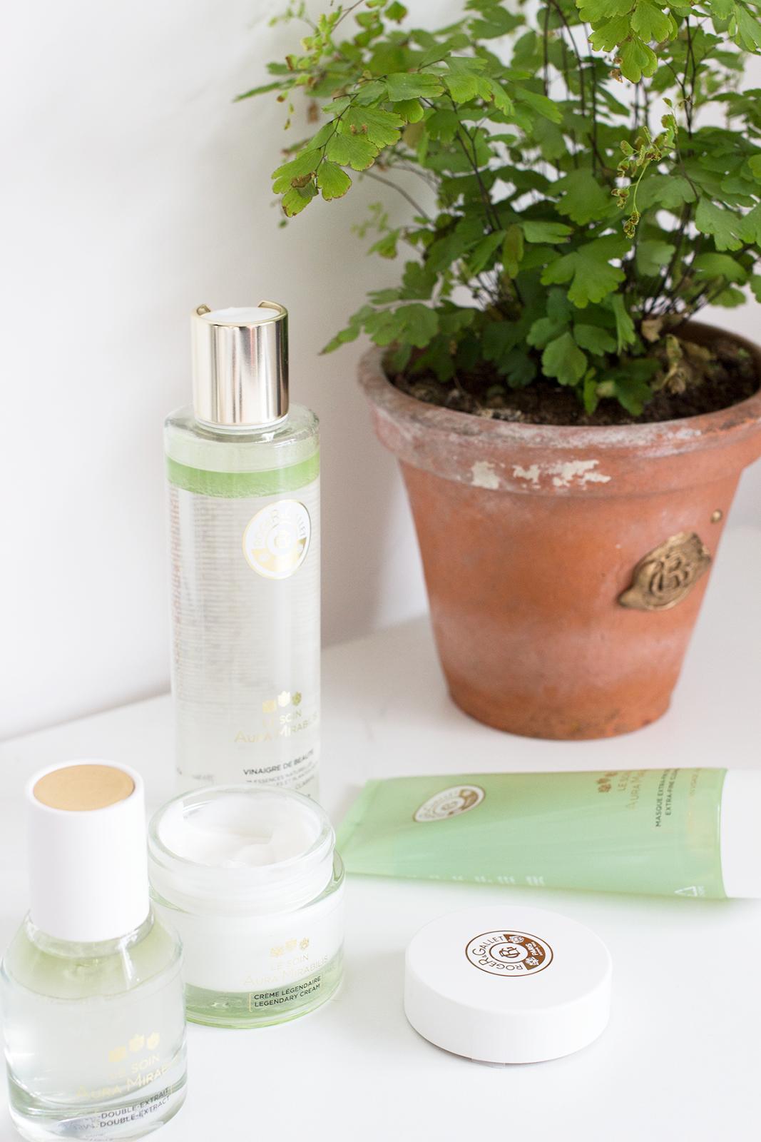Roger & Gallet Le Soin Aura Mirabilis skincare range review
