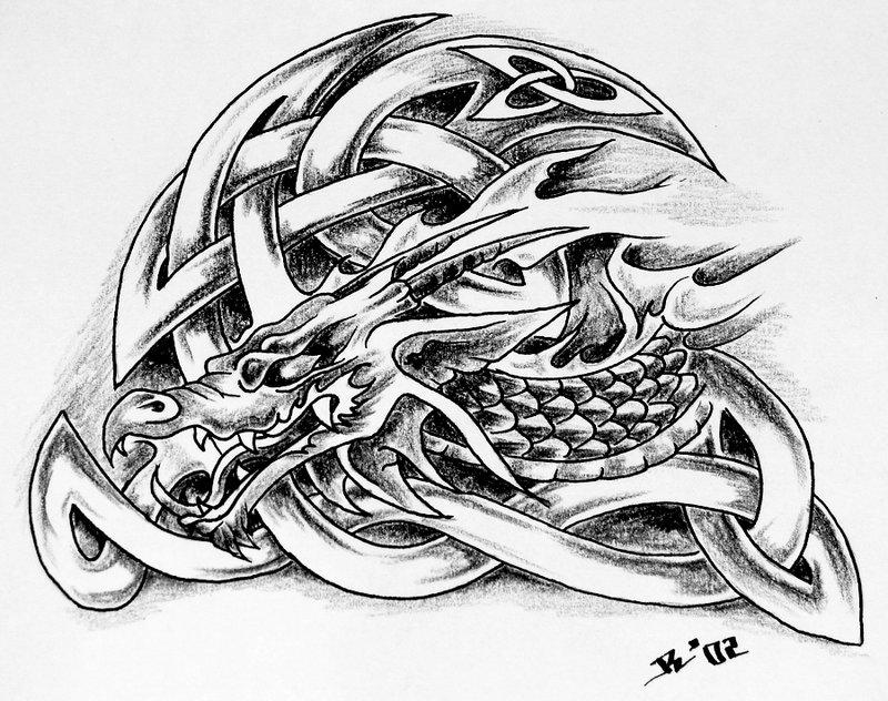 dragon tattoos designs nb52