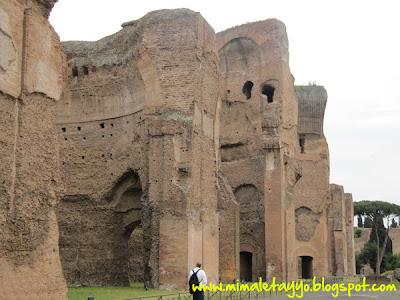Termas de Caracalla en Roma